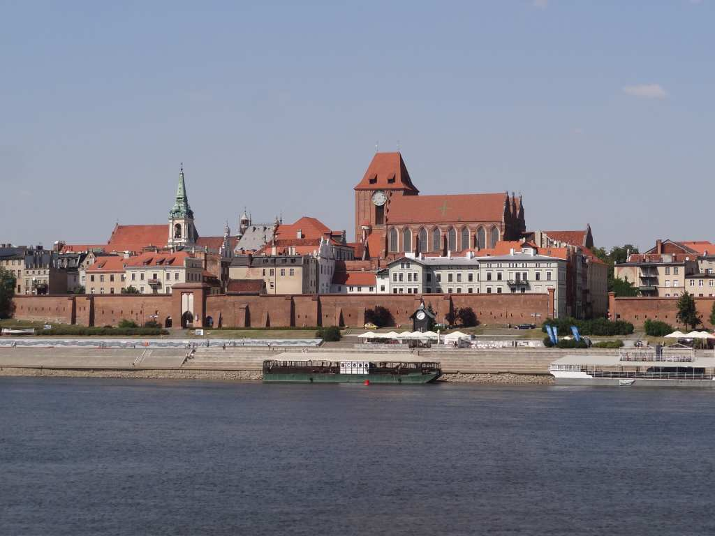 Old Town in Toruń, Poland
