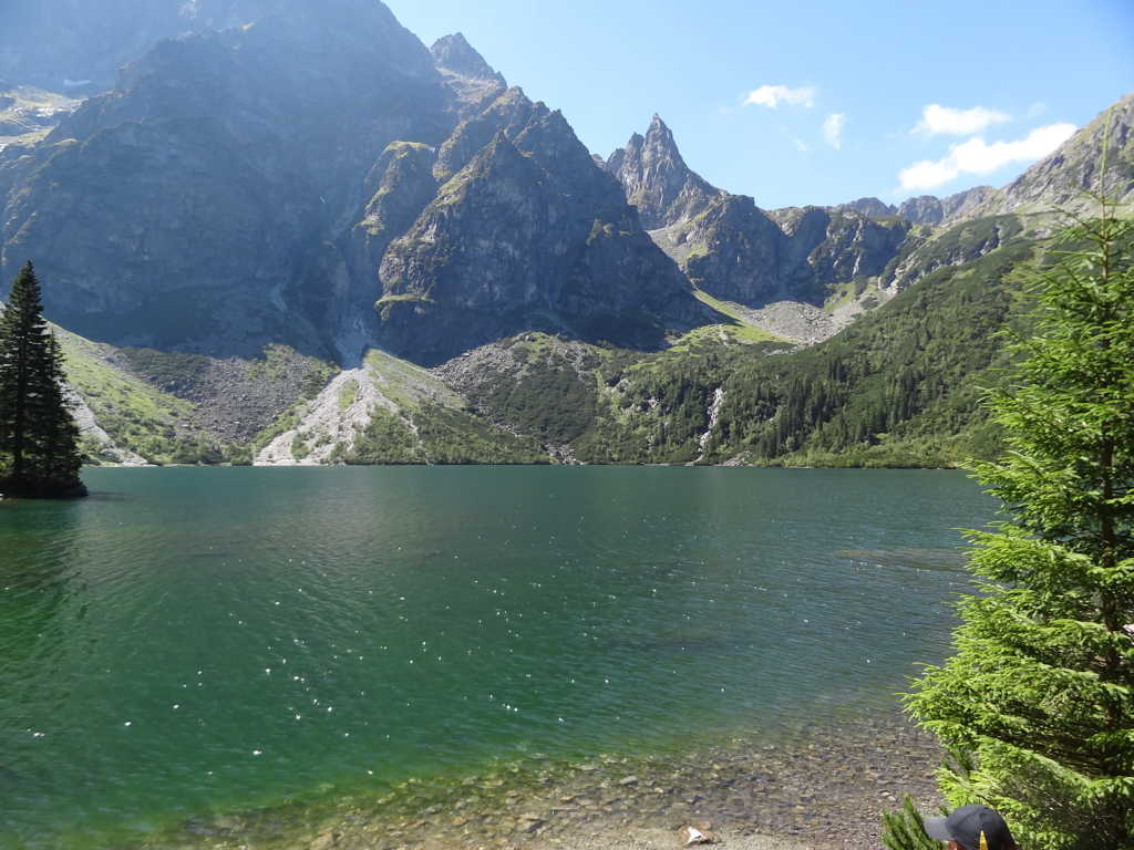 Morskie Oko (Eye of the Sea) in the Tatry Mountains